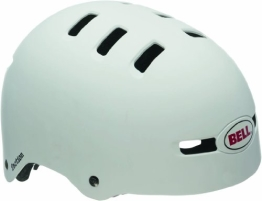 Bell Fahrradhelm Faction, Matte White, 51-56 cm, 210062004 - 1