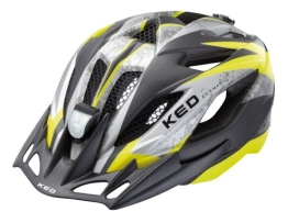 KED Fahrradhelm Street Jr. II, Yellow Black Matt, 49-55 cm, 15406170S - 1