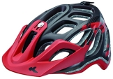 KED Fahrradhelm Trailon, Black Red Matt, 56-62 cm, 15390196L - 1